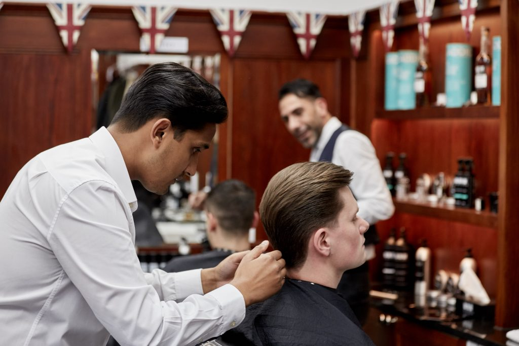 Classic Men's Hairstyles & Haircuts | Curly & Straight Hair Style Men, Rockefeller Plaza barbers