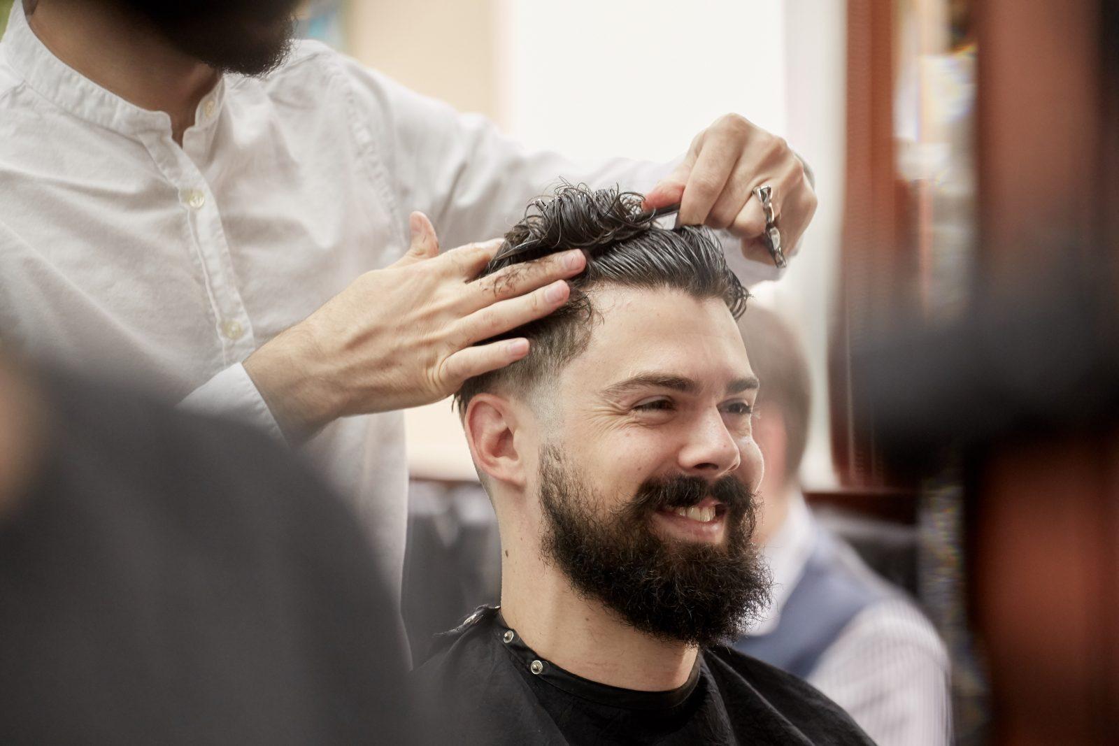 Best Haircut NYC   Barber Shop New York Manhattan   Pall Mall Barbers